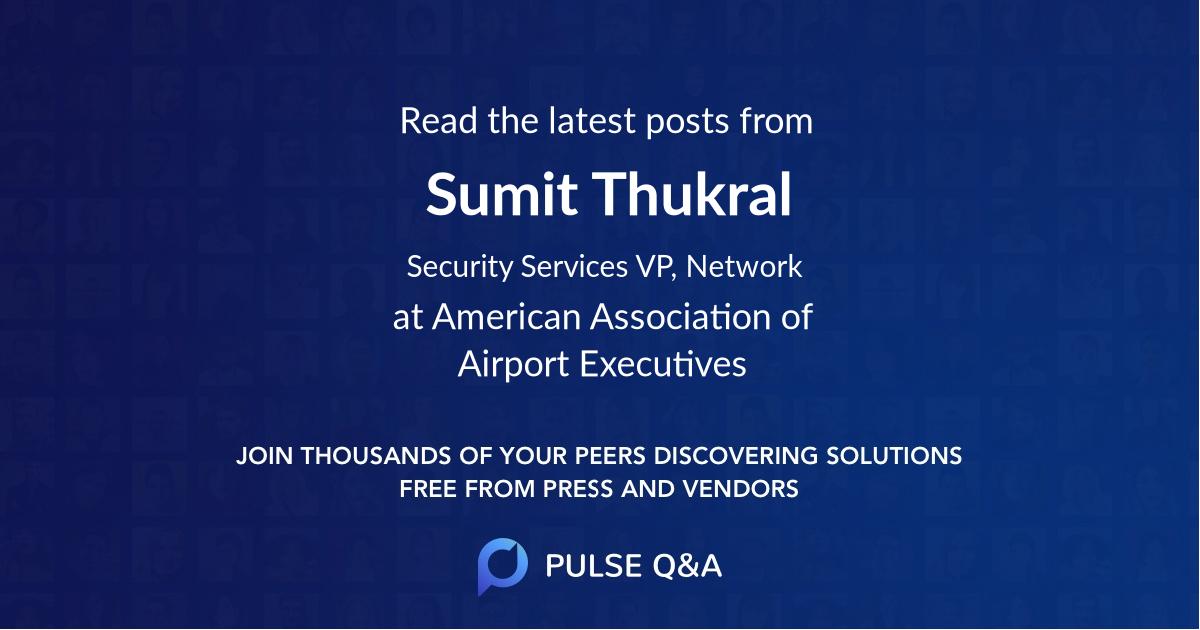 Sumit Thukral