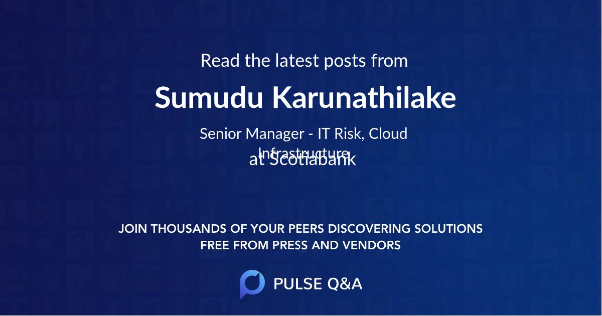 Sumudu Karunathilake