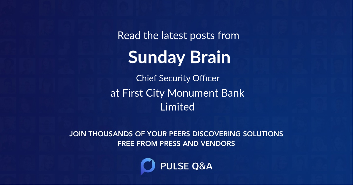 Sunday Brain