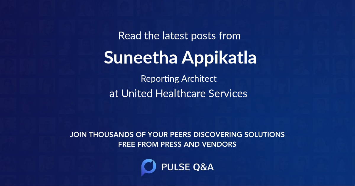 Suneetha Appikatla