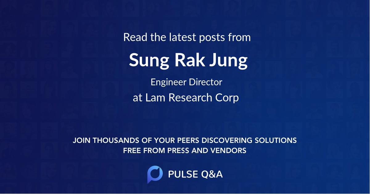 Sung Rak Jung