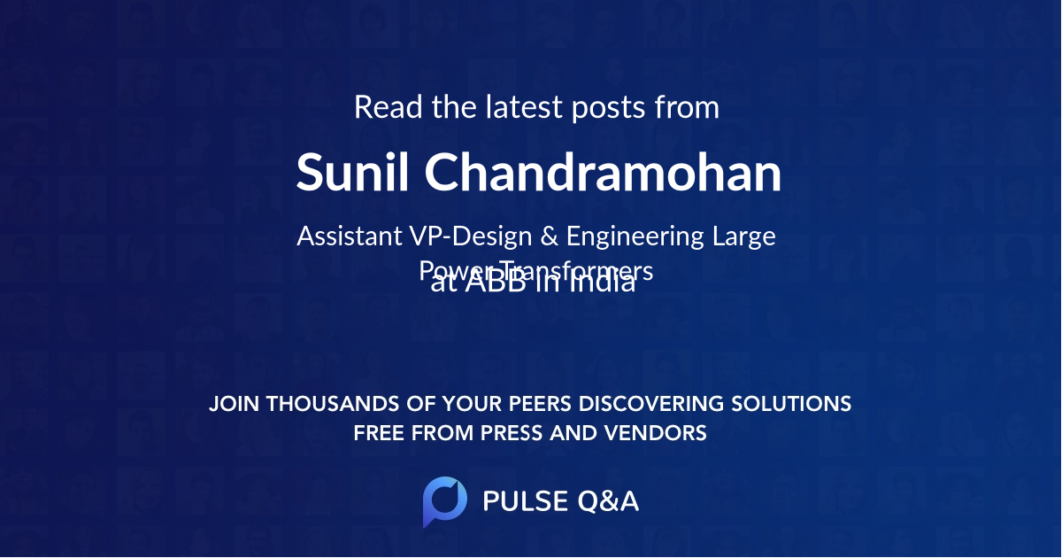 Sunil Chandramohan
