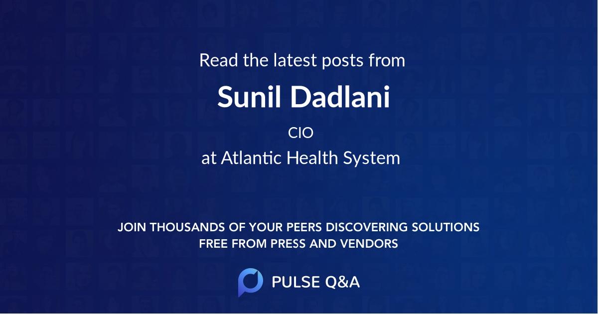 Sunil Dadlani