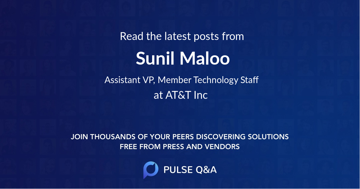 Sunil Maloo