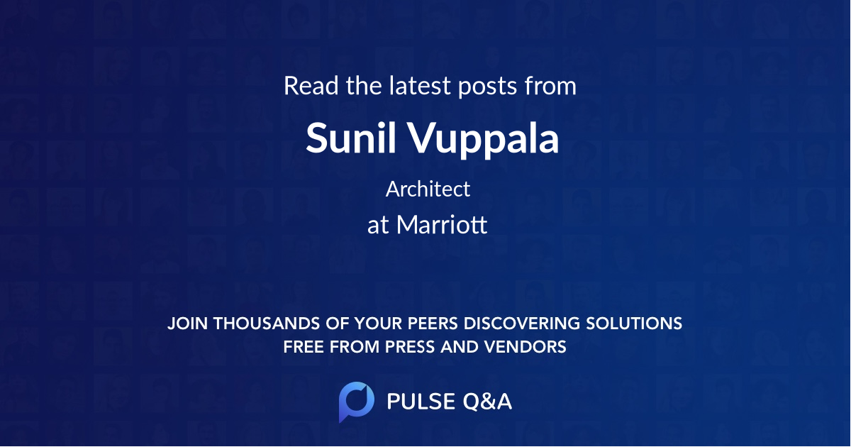 Sunil Vuppala