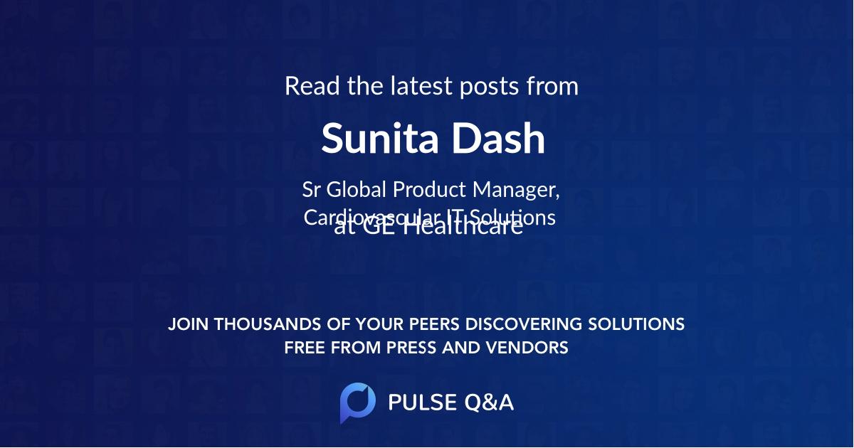 Sunita Dash