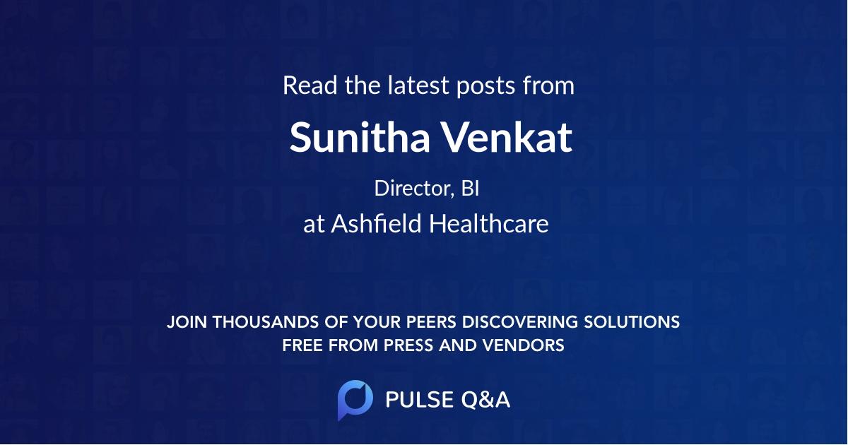 Sunitha Venkat