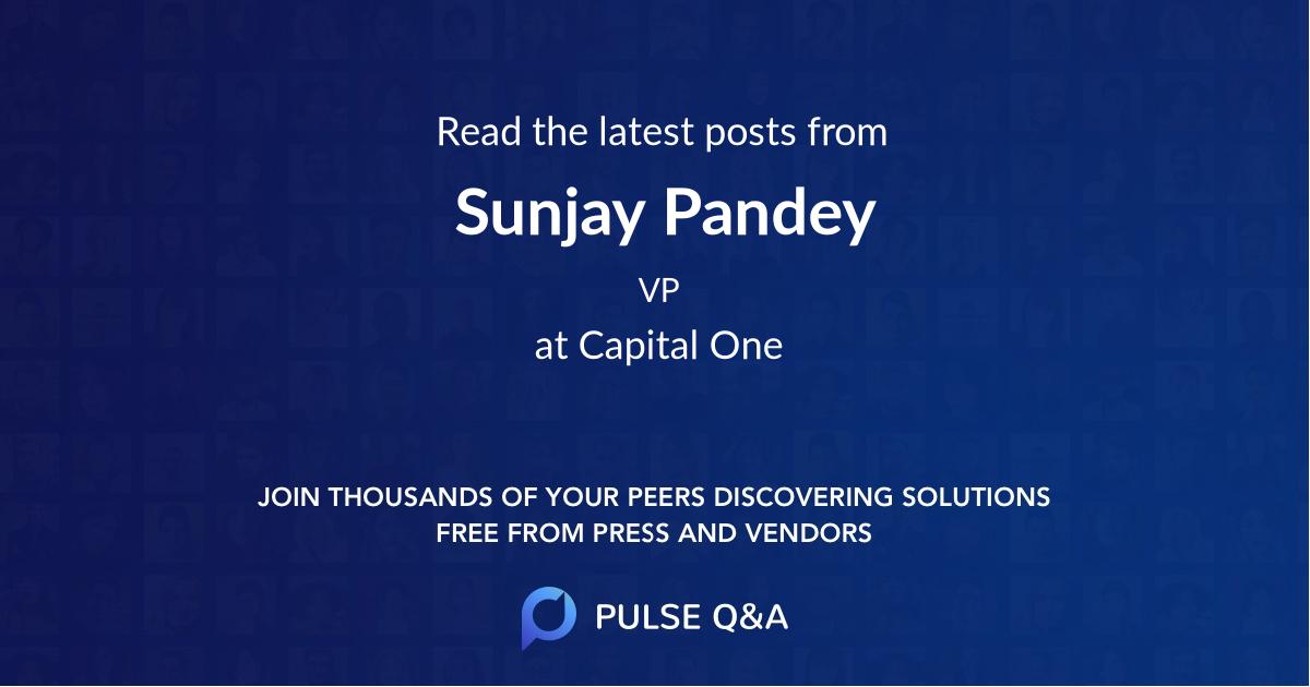 Sunjay Pandey