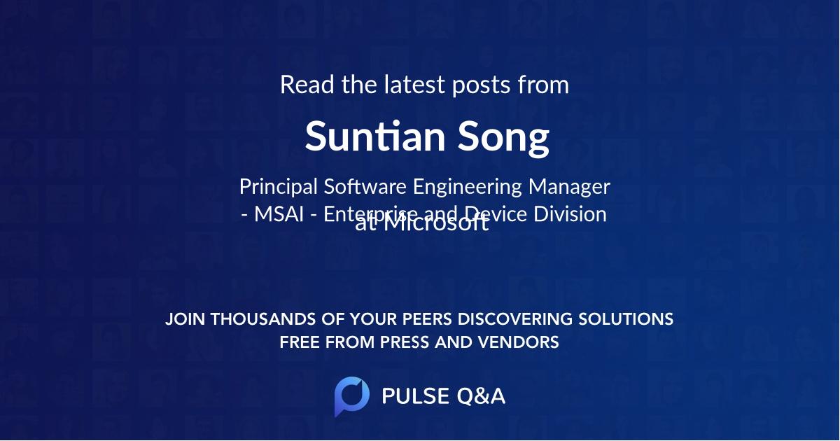 Suntian Song