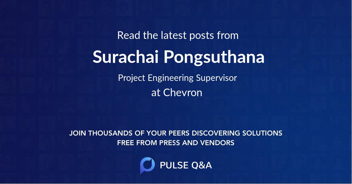 Surachai Pongsuthana