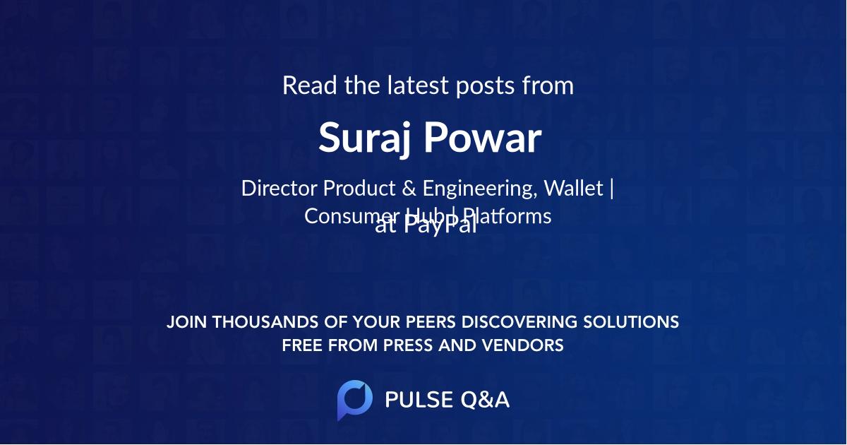 Suraj Powar