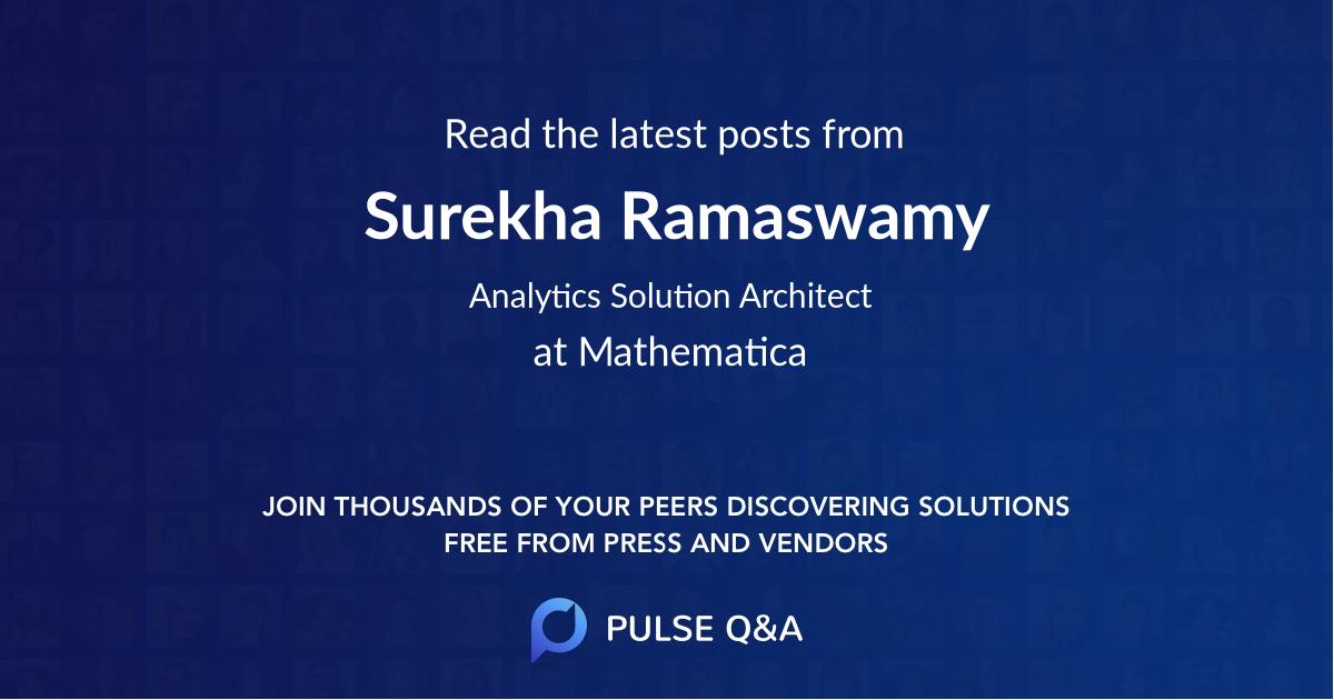 Surekha Ramaswamy