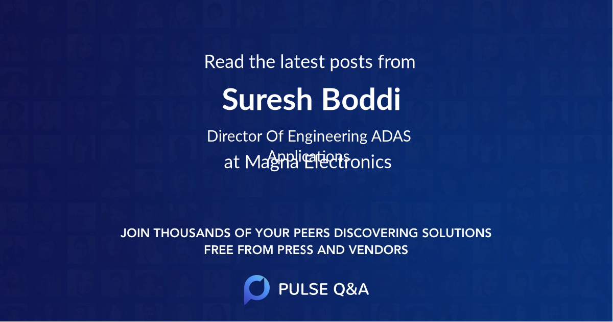 Suresh Boddi