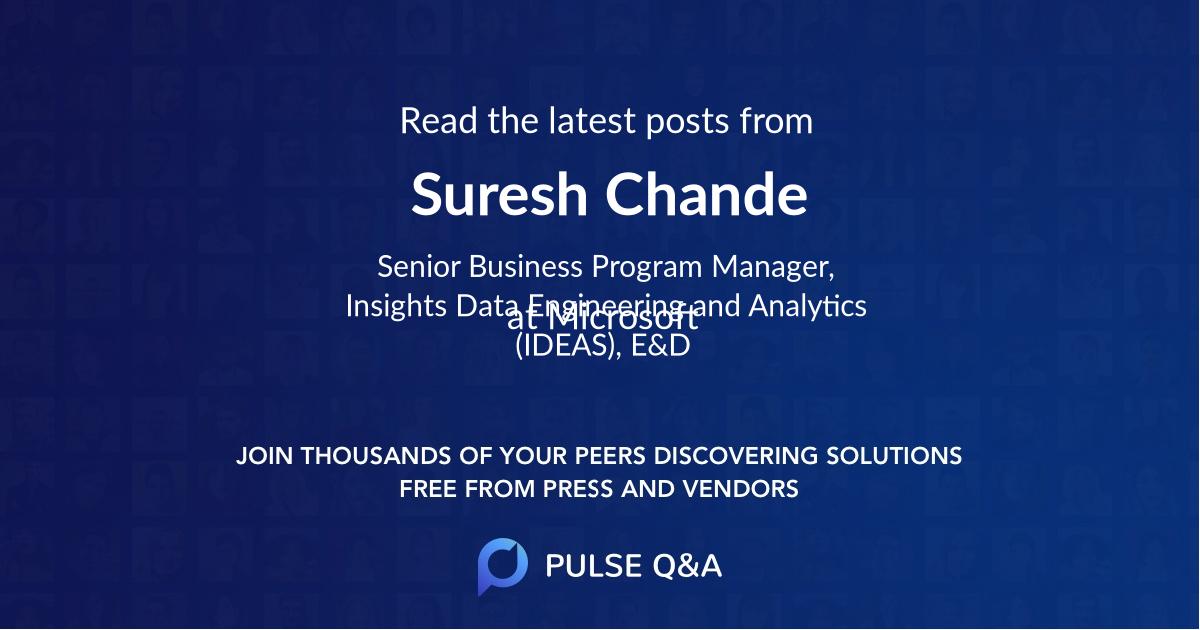 Suresh Chande