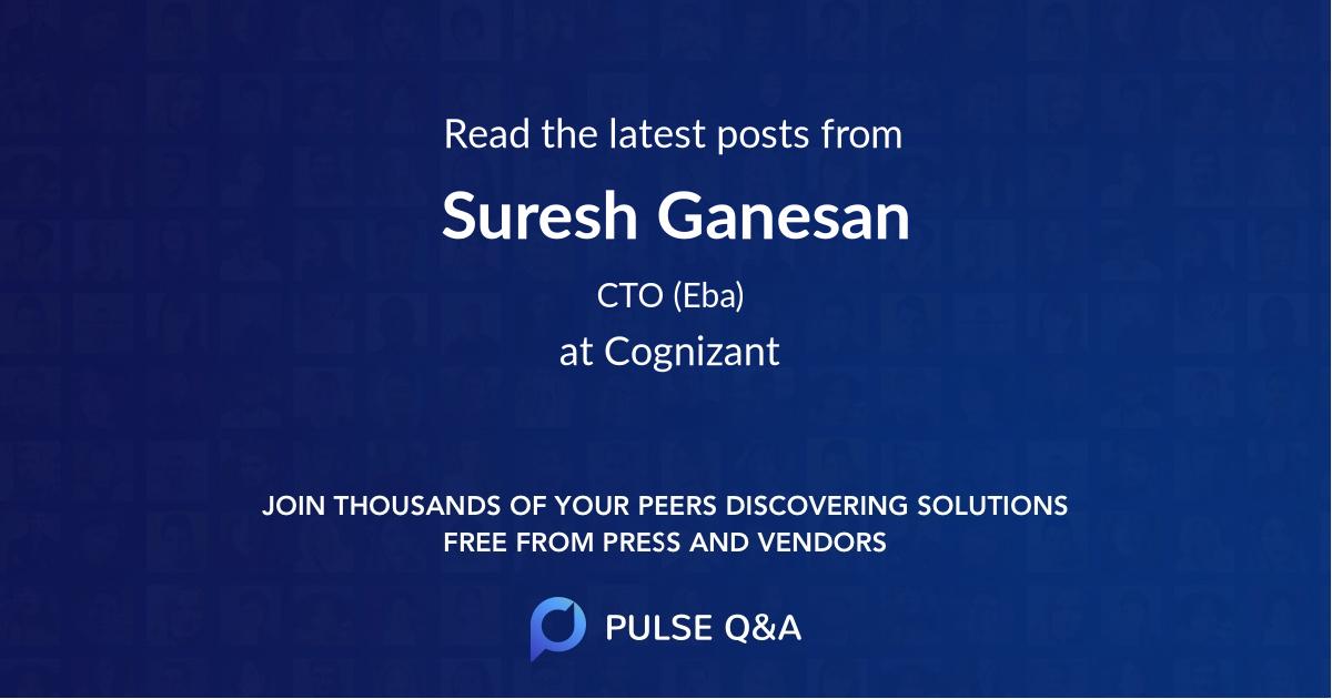 Suresh Ganesan