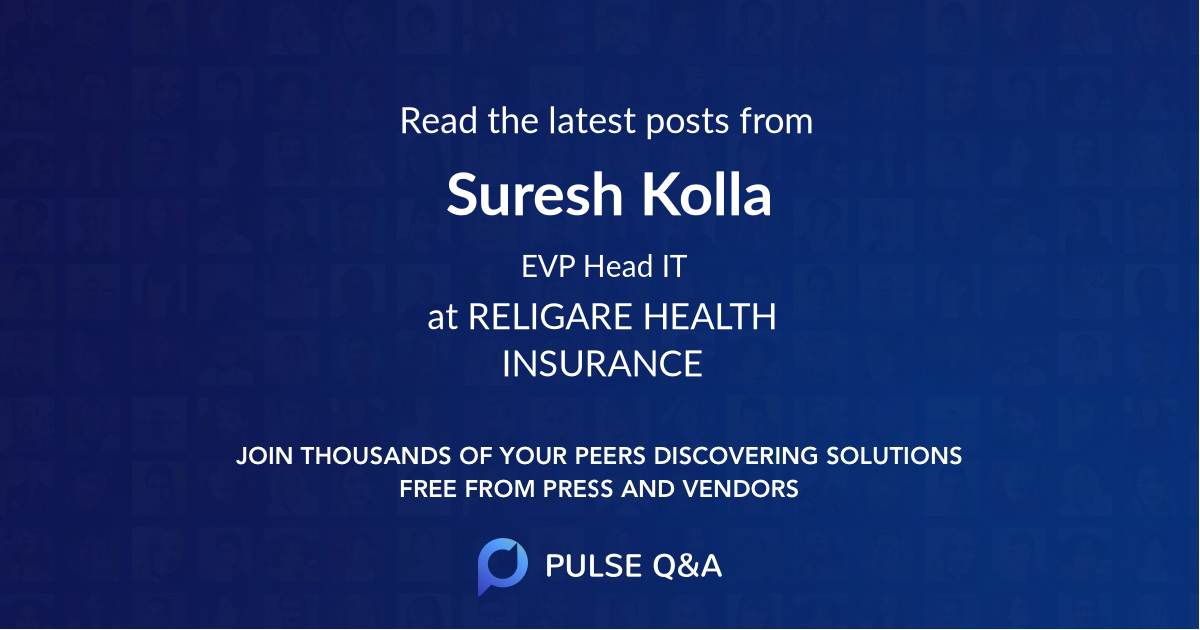 Suresh Kolla