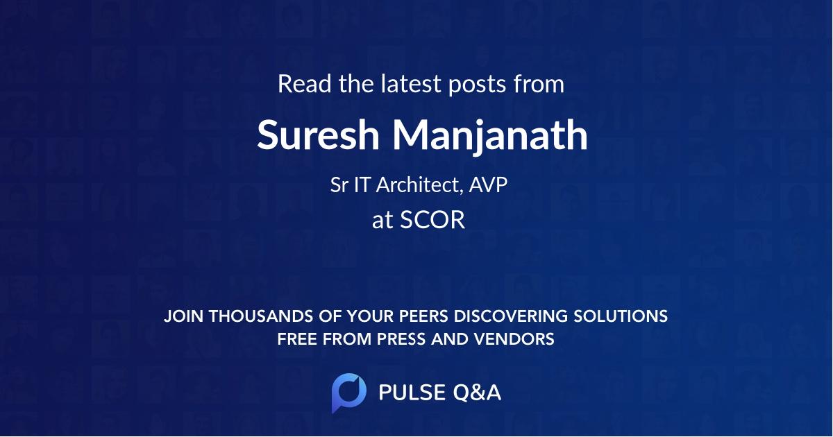 Suresh Manjanath