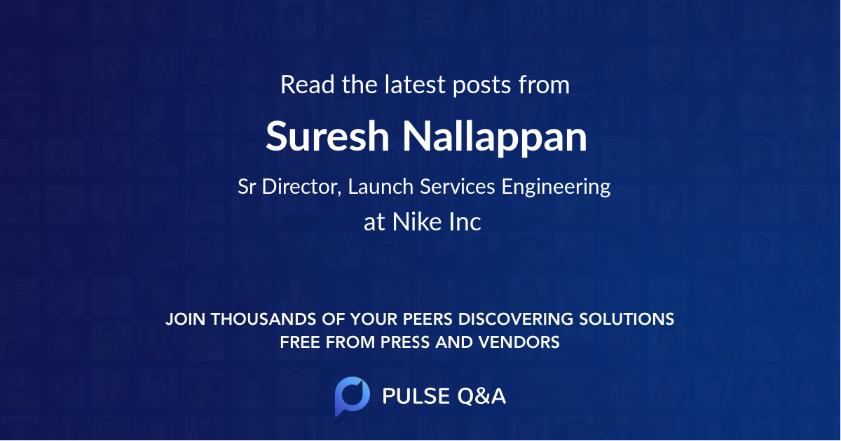 Suresh Nallappan