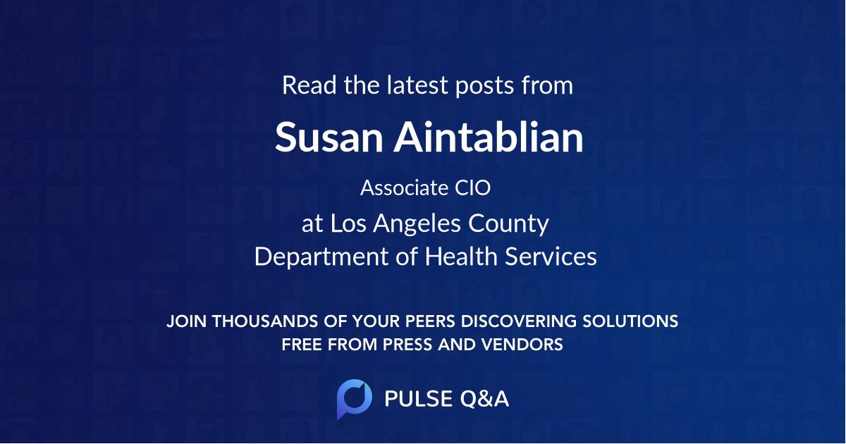Susan Aintablian