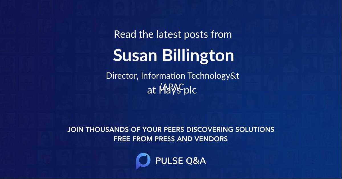 Susan Billington