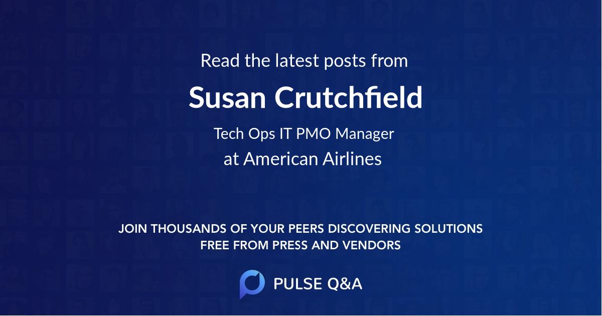 Susan Crutchfield