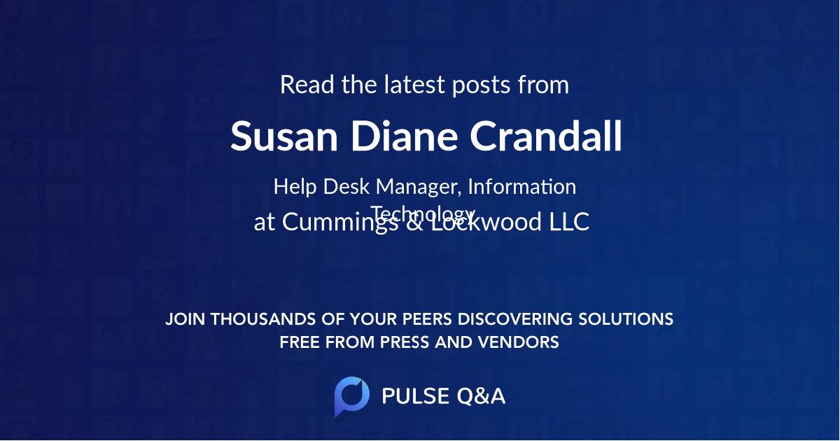 Susan Diane Crandall