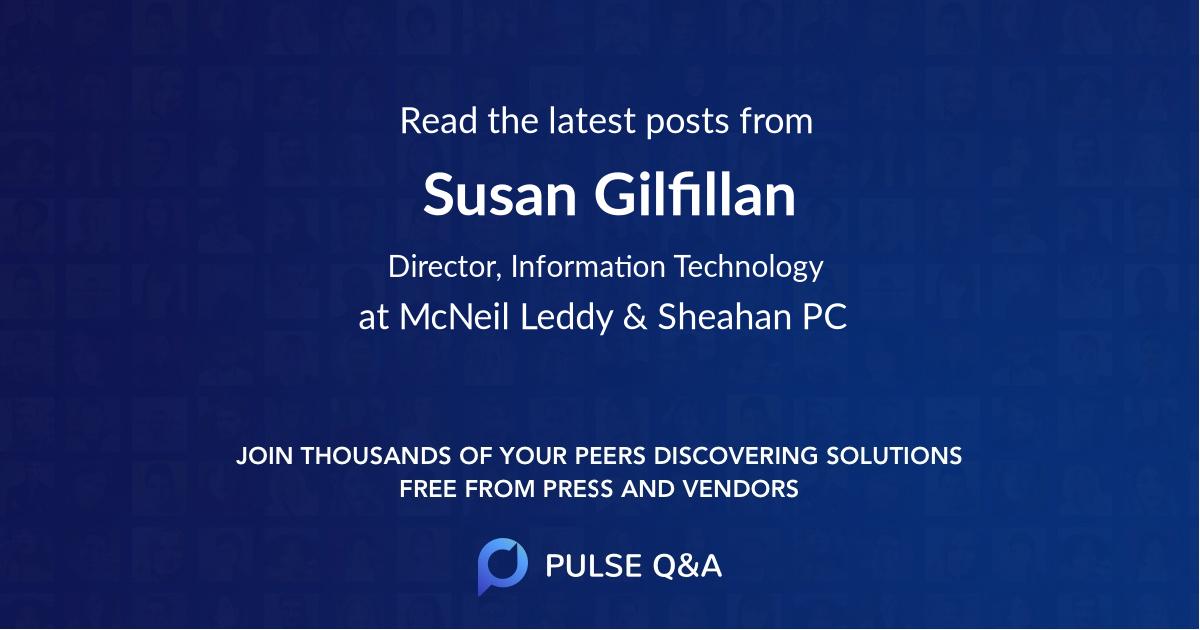 Susan Gilfillan