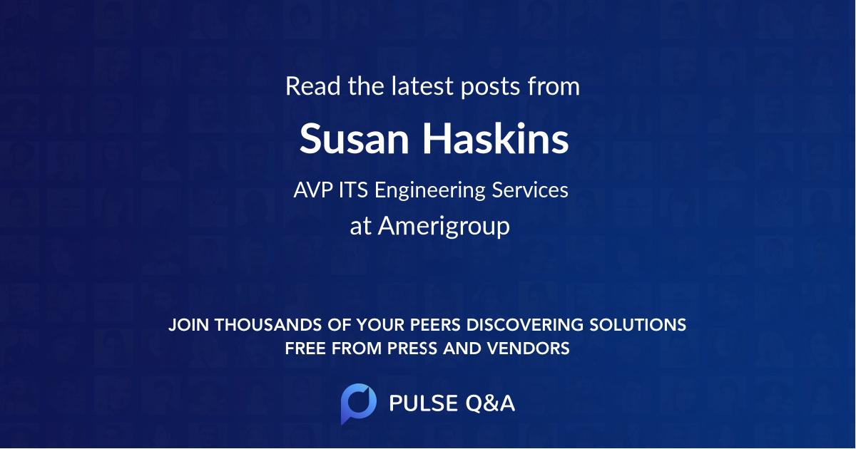 Susan Haskins