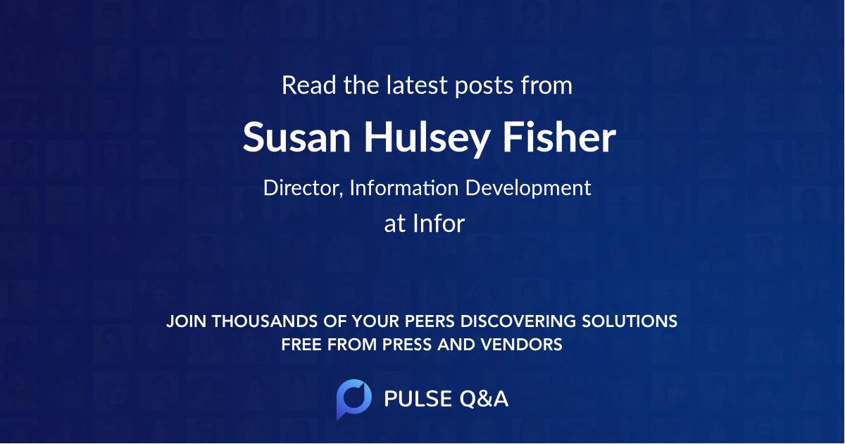 Susan Hulsey Fisher