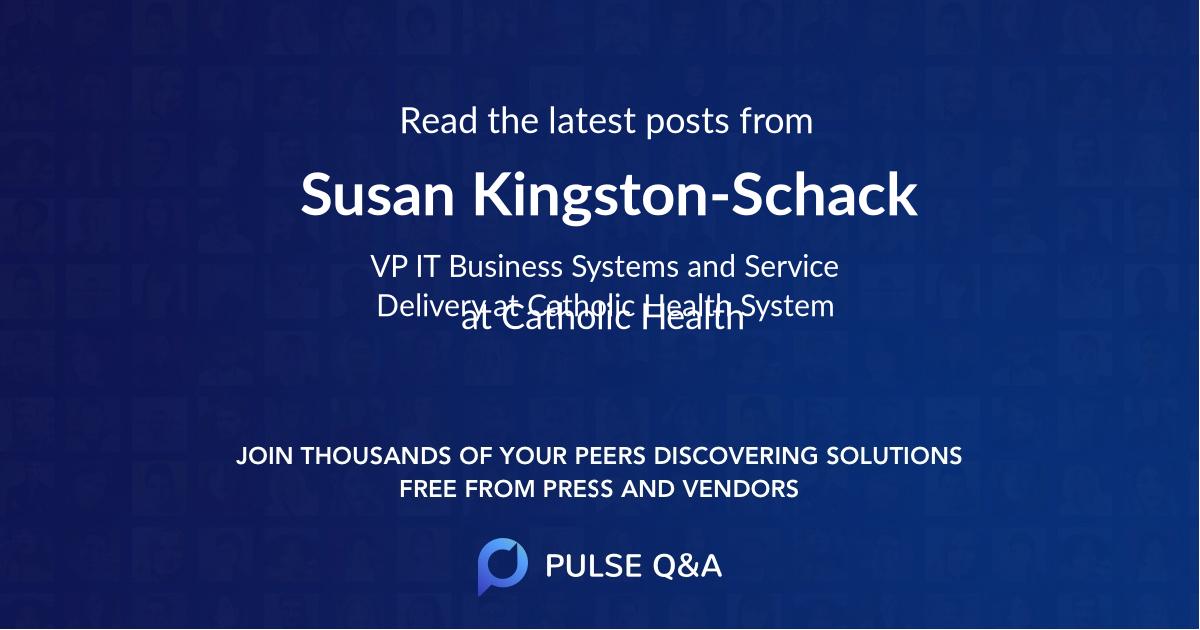 Susan Kingston-Schack