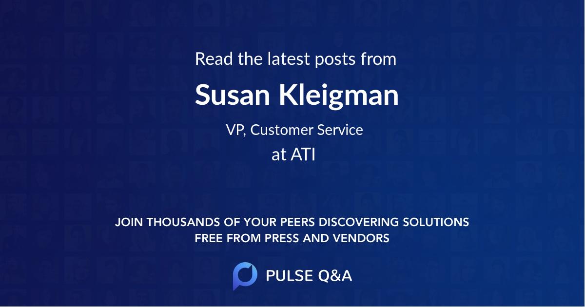 Susan Kleigman