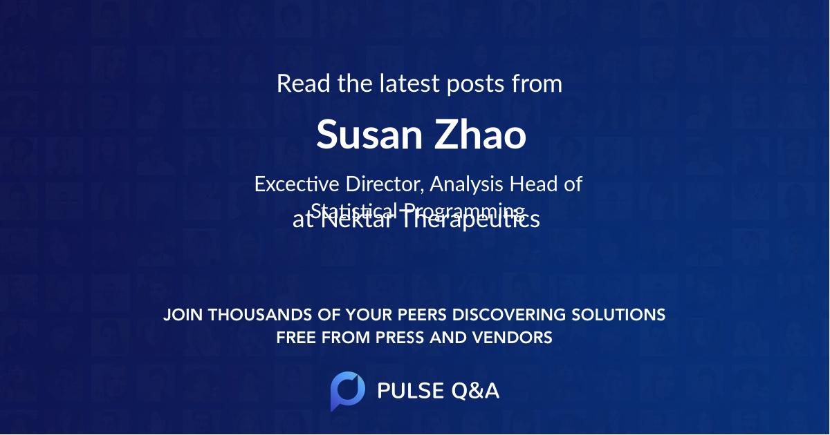 Susan Zhao
