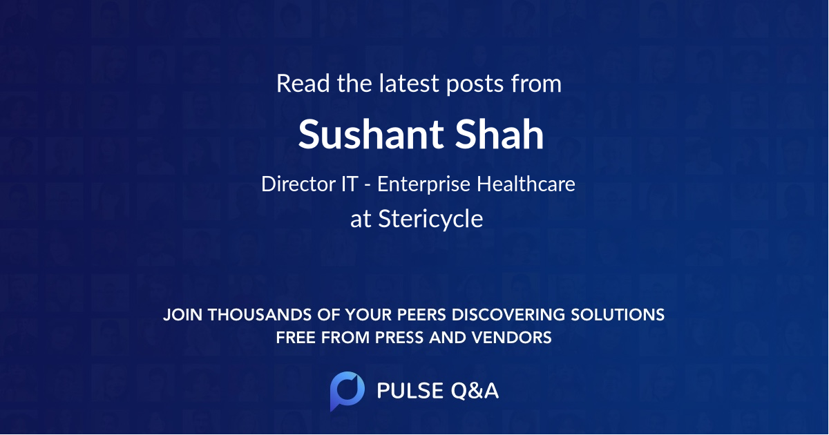 Sushant Shah
