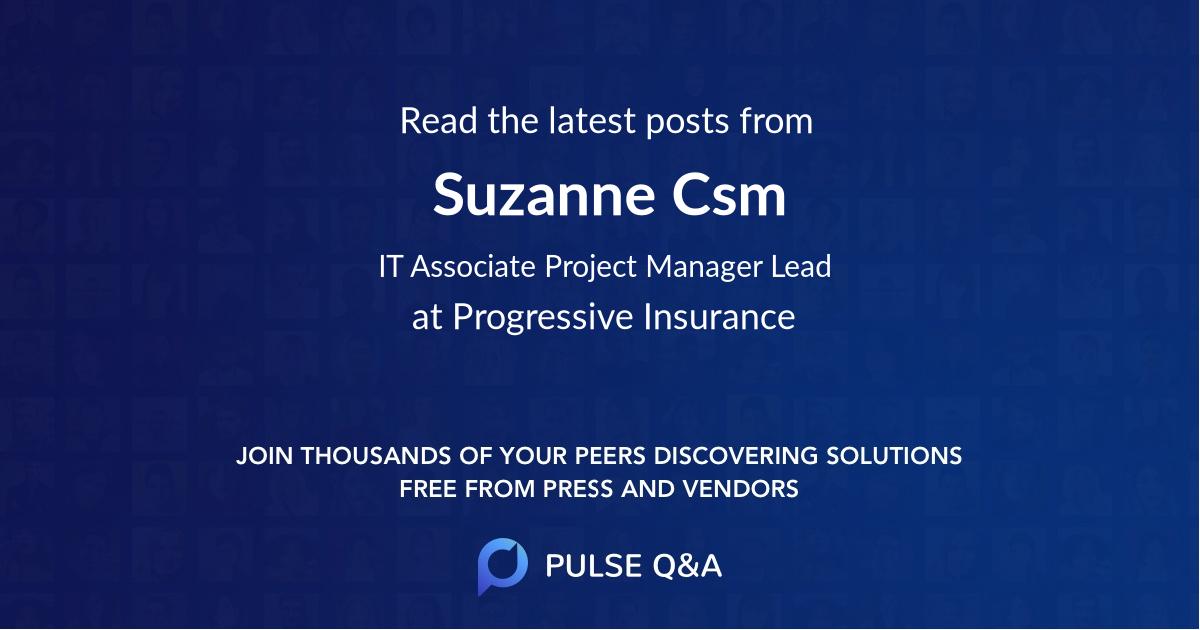 Suzanne Csm