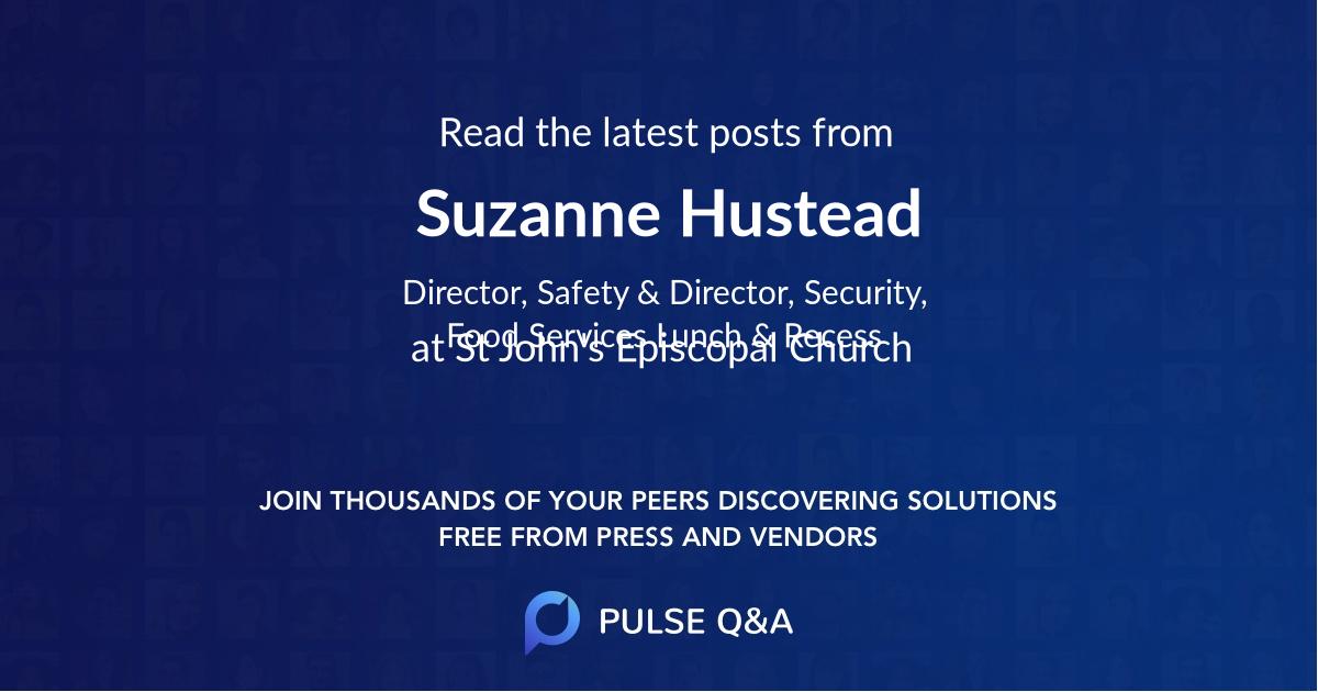 Suzanne Hustead