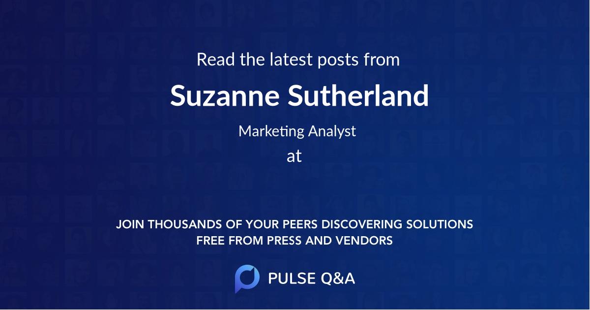 Suzanne Sutherland
