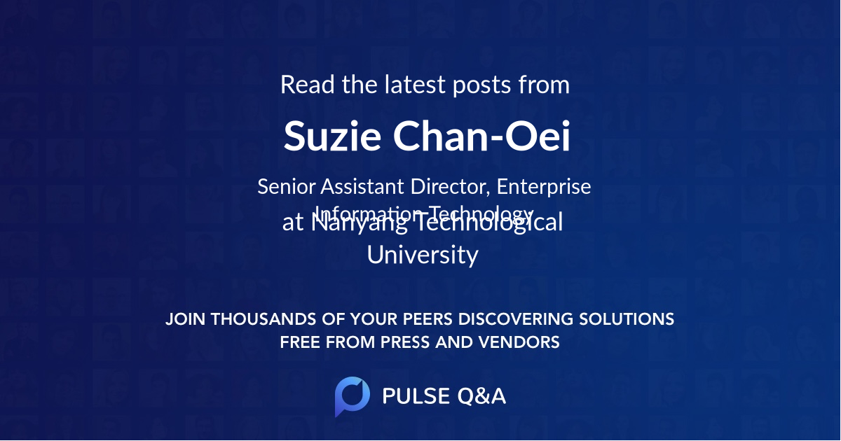 Suzie Chan-Oei