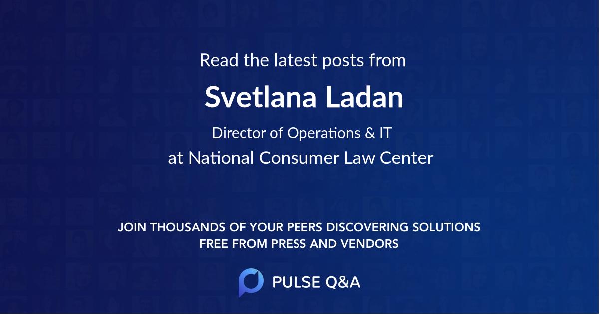Svetlana Ladan
