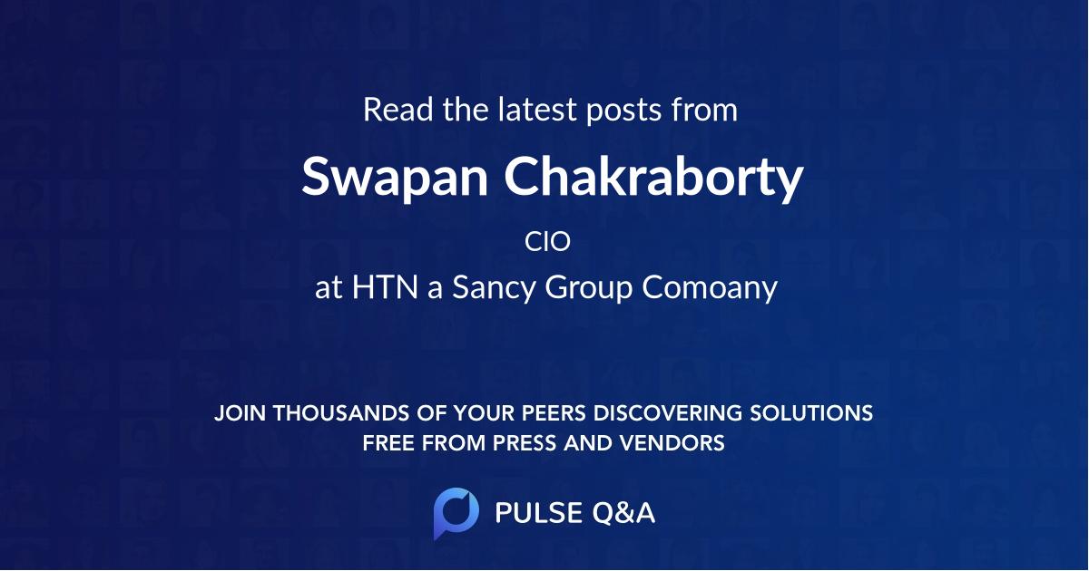 Swapan Chakraborty
