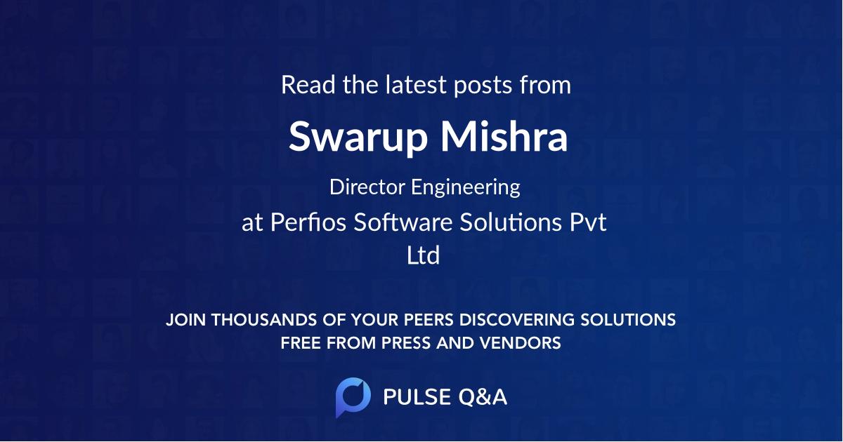 Swarup Mishra