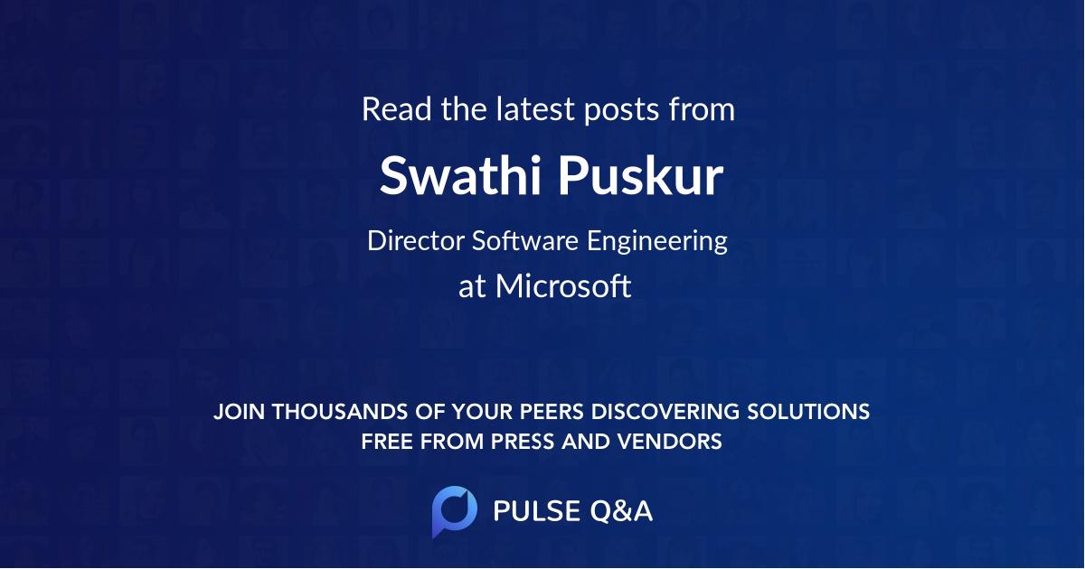 Swathi Puskur