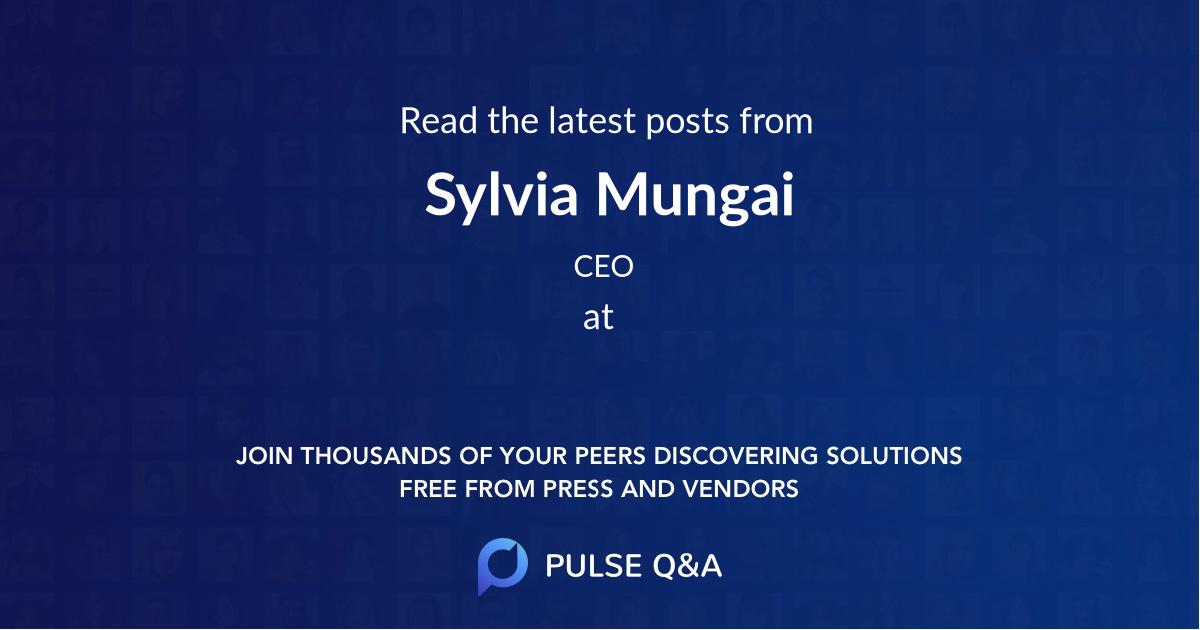 Sylvia Mungai