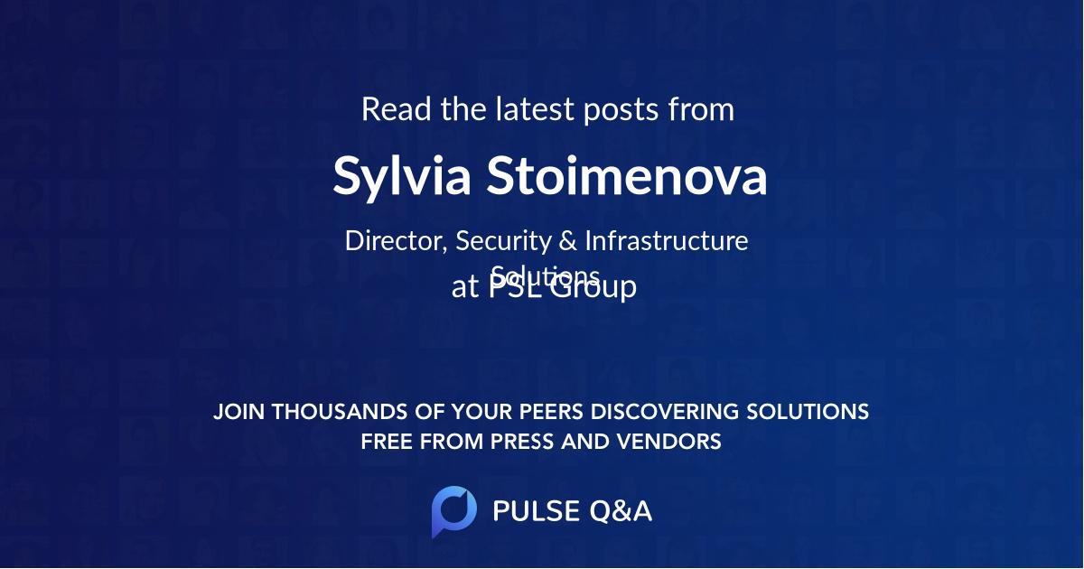 Sylvia Stoimenova