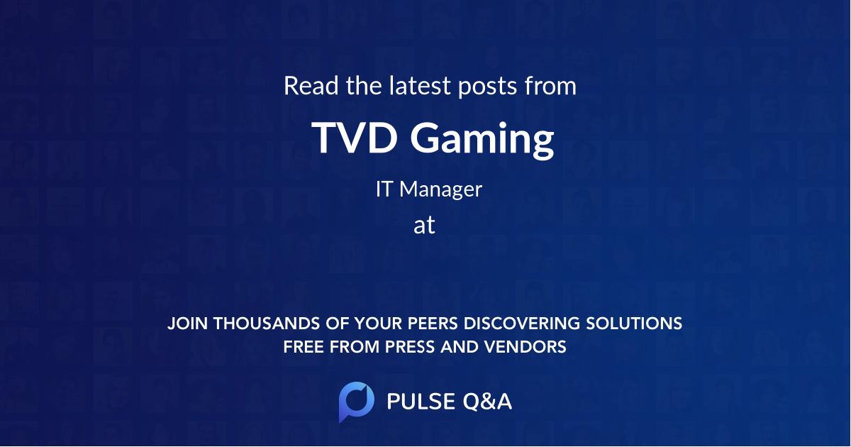 TVD Gaming