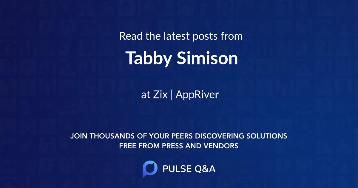 Tabby Simison
