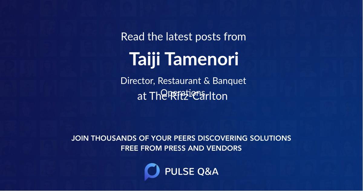 Taiji Tamenori