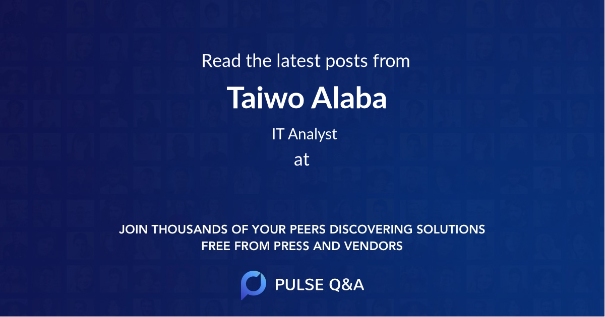 Taiwo Alaba