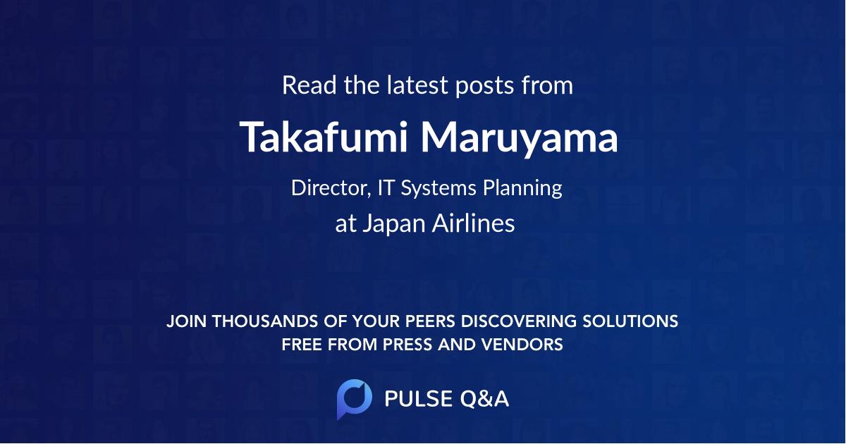Takafumi Maruyama
