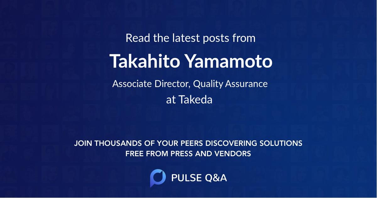 Takahito Yamamoto