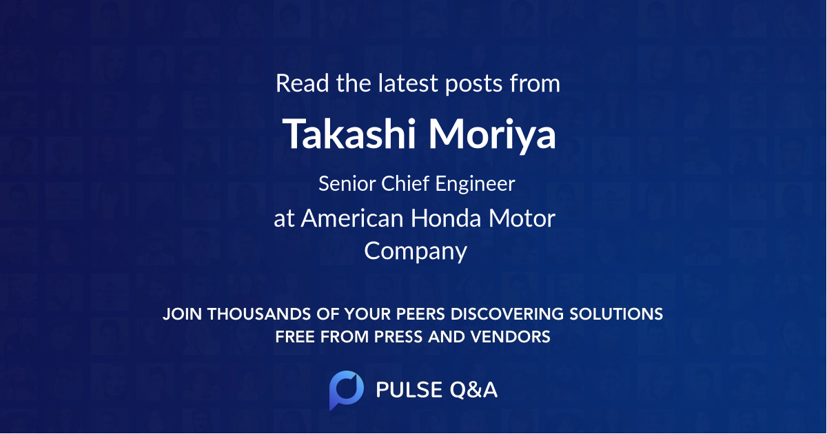 Takashi Moriya